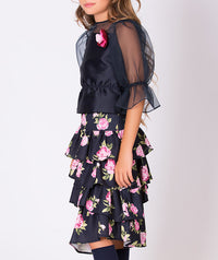 Rose Prints Lola Outfit | 2 Pieces