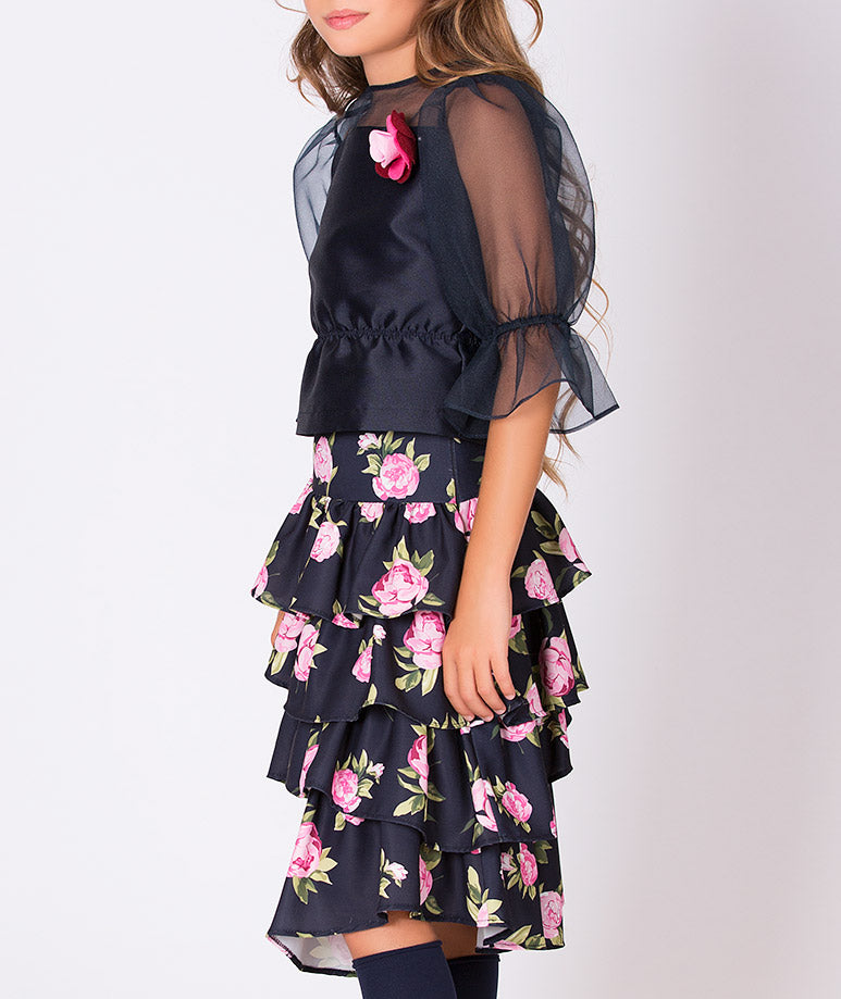 Product Image of Rose Prints Lola Outfit | 2 Pieces #2