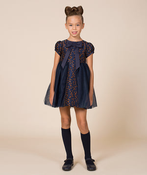 Girl in high end party dress for kids by Mama Luma