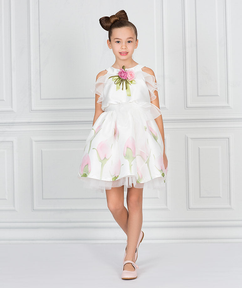 Product Image of Dreamy Flower Dress #1