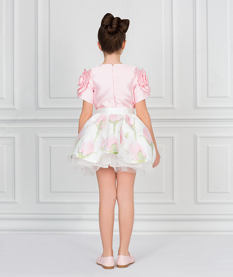 Product Image of Dreamy Pink Rose Outfit I 2 Pieces #7