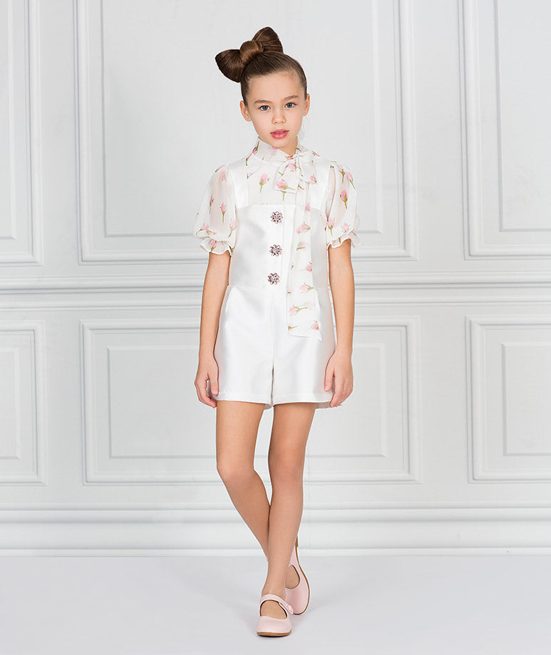 Product Image of Elegant Iris Jumper Outfit I 2 Pieces #1