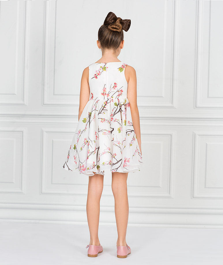 Product Image of 3D Organza Bloom Dress #3