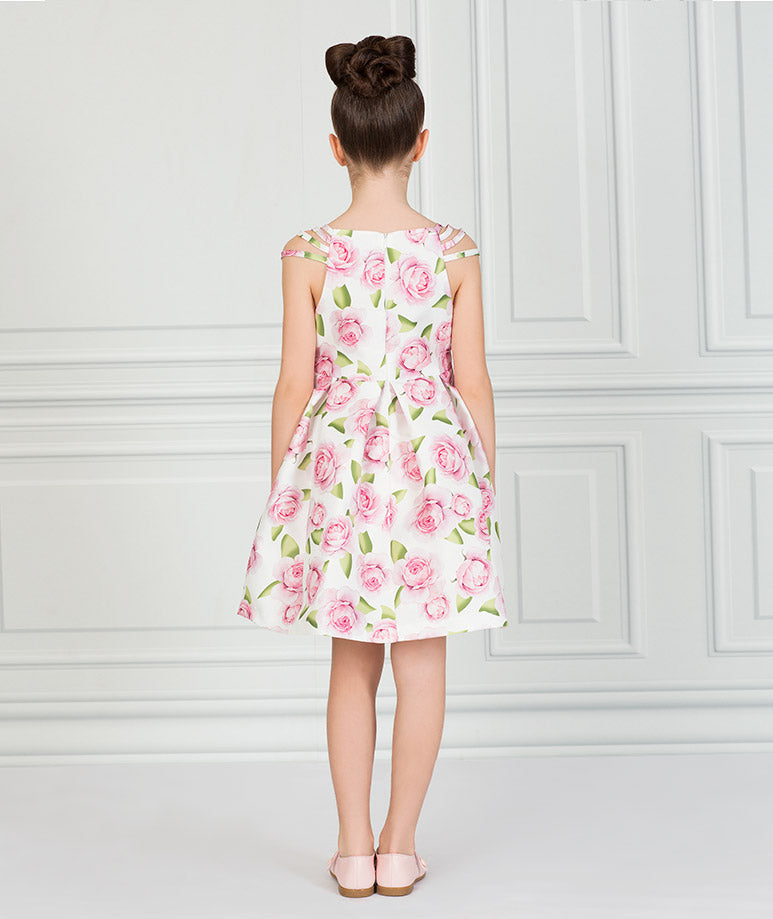 Product Image of Tulip Prints Bow Dress #2
