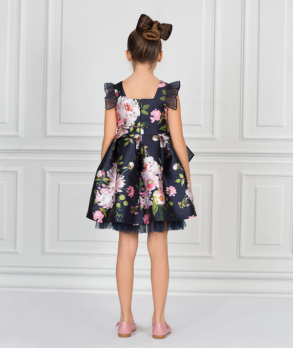 Nerida Organza Bow Dress