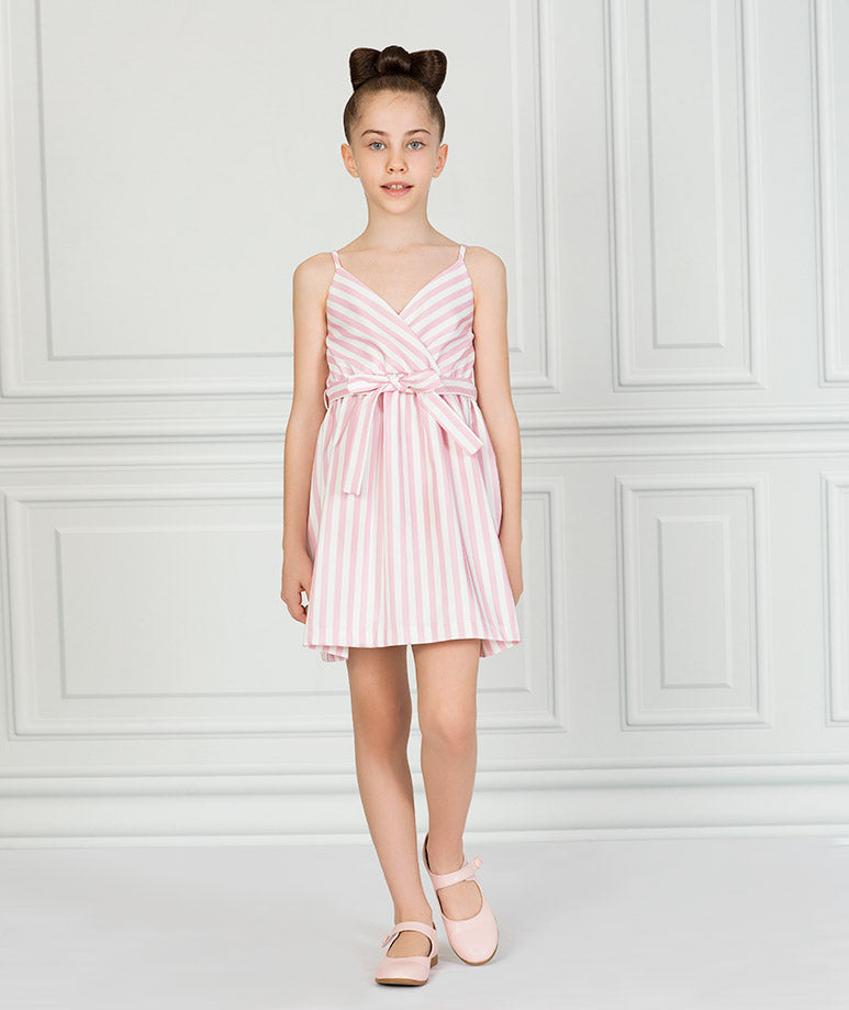 Product Image of Carmel Summer Dress   Pink #1