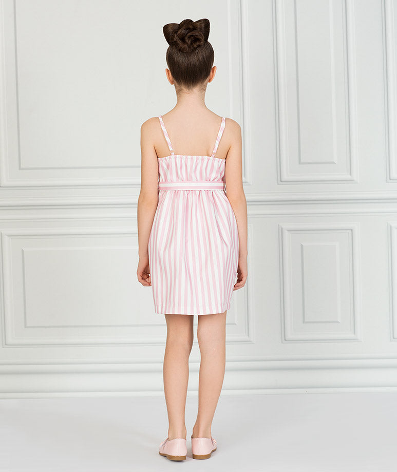 Product Image of Carmel Summer Dress   Pink #3