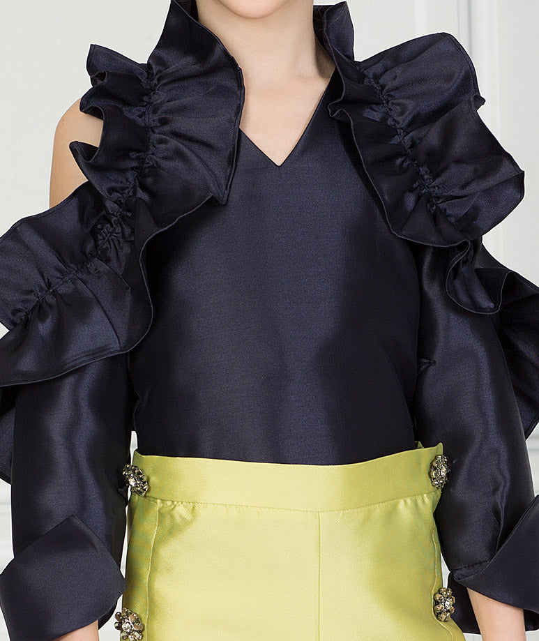 Product Image of Elegant Zoey Ruffle Outfit I 2 Pieces #2