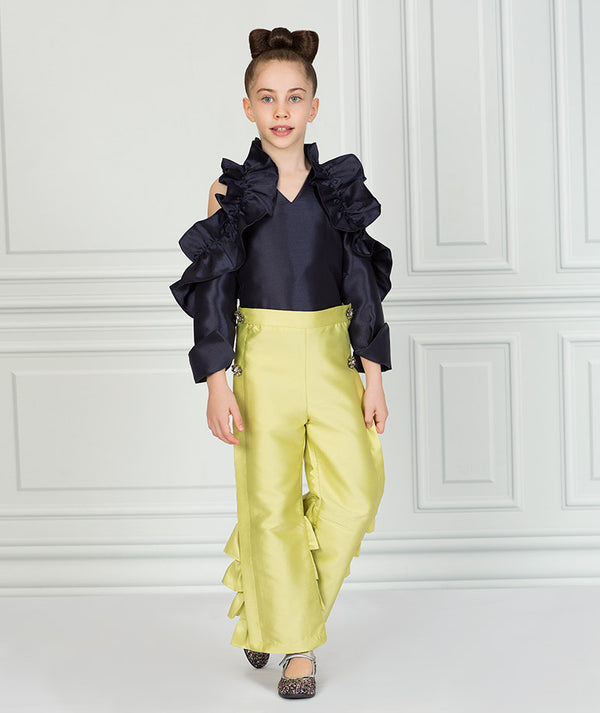 Elegant Zoey Ruffle Outfit I 2 Pieces