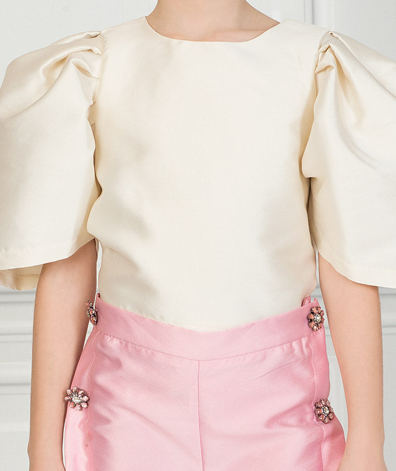 Product Image of Elegant Rachel Ruffle Outfit I 2 Pieces #2