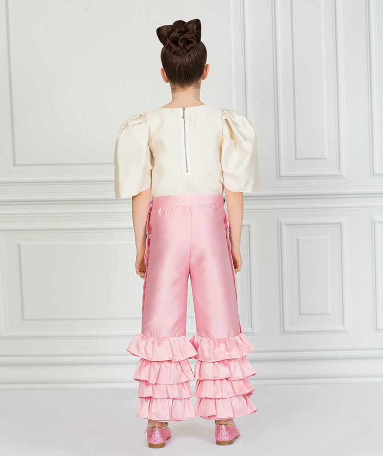 Product Image of Elegant Rachel Ruffle Outfit I 2 Pieces #3