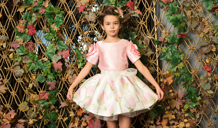 Product Image of Dreamy Pink Rose Outfit I 2 Pieces #2