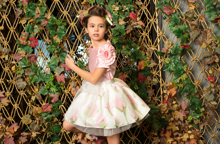 Product Image of Dreamy Pink Rose Outfit I 2 Pieces #4