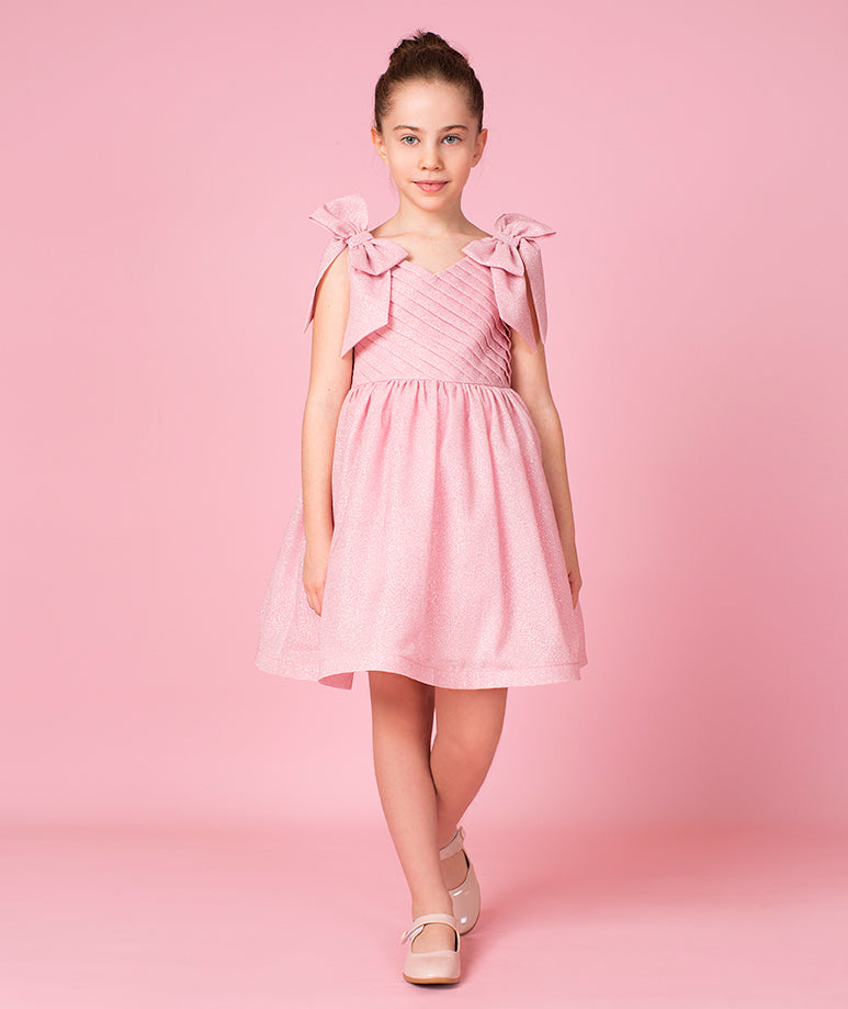 Pink Sparkles Party Dress