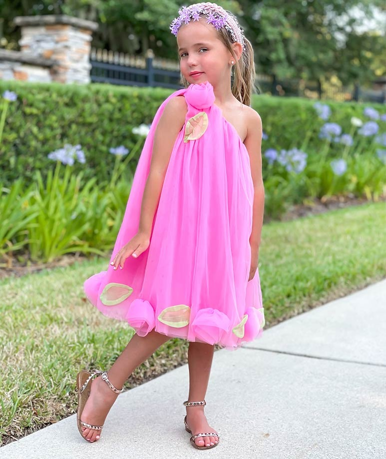 Product Image of Neon Rose Gracie Dress #1