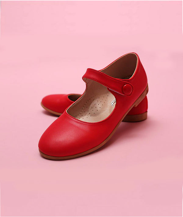 Red shoes for kids