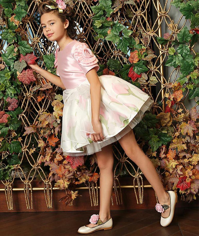 Product Image of Dreamy Pink Rose Outfit I 2 Pieces #1