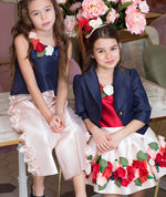Royal 3D Flowers Brooklyn Outfit | 4-pieces