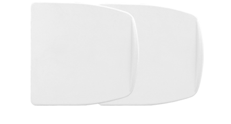 Toilet Seat Lifters- Natural Pack of 2