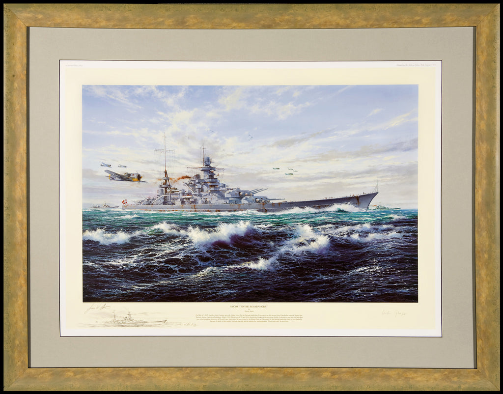 """Escort To The Scharnhorst"", by Simon Atack 2002"