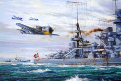 """Escort To The Scharnhorst"" detail"