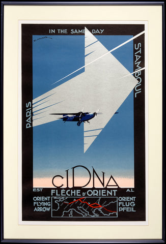 CIDNA Poster (Reproduction), by Edmond Maurus, ca. 1930