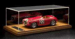 Ferrari 166MM Ciemme 1:12 Scale in display