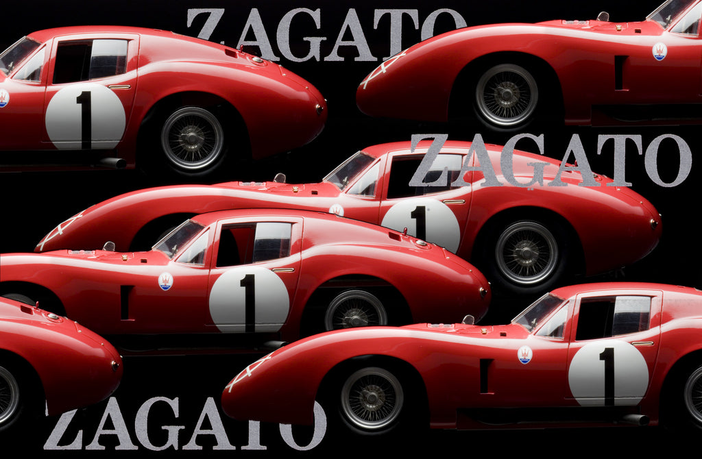 Maserati 450S Costin Zagato Coupe 1957 by Motor City USA 1:12 Scale