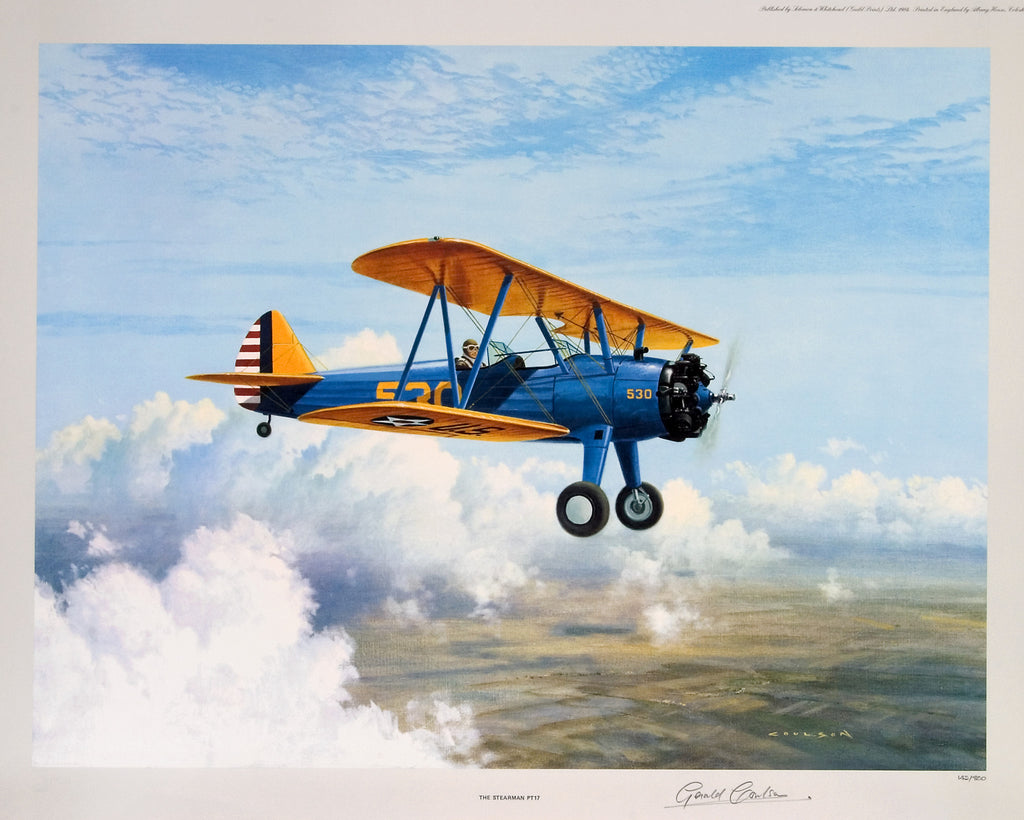 """Stearman PT17"", by Gerald Coulson, 1984"