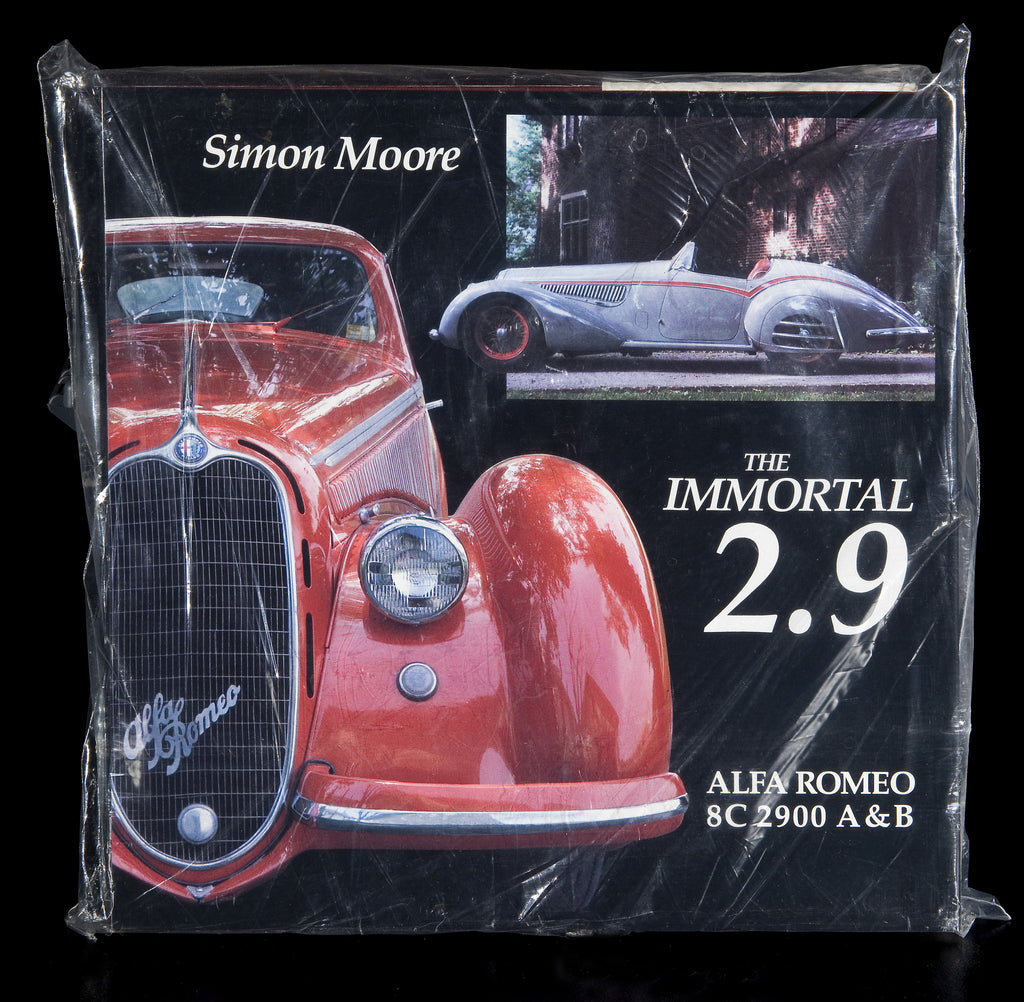 'The Immortal 2.9'  Alfa Romeo 8C 2900 History (book)