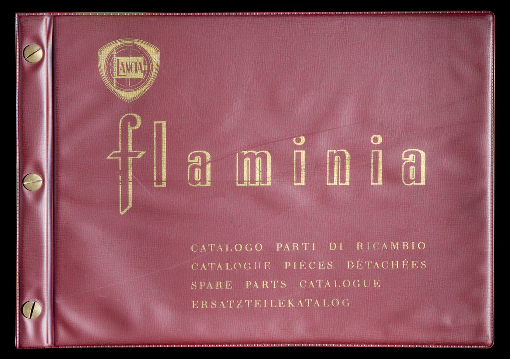 Lancia Flaminia Parts And Workshop Manual Rare!