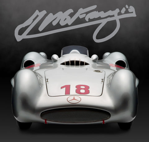 Mercedes W196 Streamliner, Reims GP Winner, 1954 CMA Models 1:10 Scale