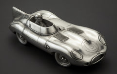 Jaguar D-Type 1955 Pewter Sculpture