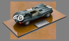 Jaguar D Type 1955 Le Mans Winner Historic Replicars 1:24 Scale