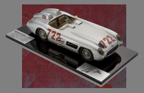 1955 Mercedes 300 SLR Mille Miglia Historic Replicars 1:24 Scale