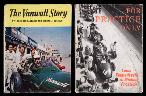 1950's Racing Books Illustrated by Louis Klemantaski