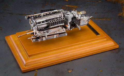 Auto Union Type C  V-16 Engine 1:18 Scale by CMC