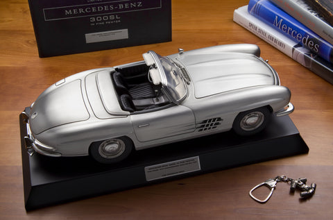 Mercedes Benz 300SL Roadster 1957 by Franklin Mint 1:12 Scale