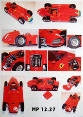 Lancia-Ferrari D50 World Champion 1956 Kit by MG Model Plus 1:12 Scale