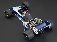 Brabham BT52 World Champion, Signed Piquet , by Minichamps rear 3/4 view