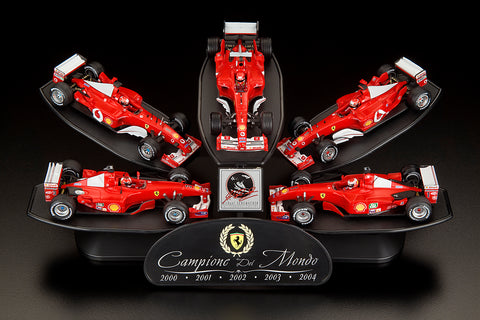Ferrari World Championship Commemorative Set By Mattel 1:43 Scale