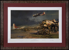 Framed and matted Company of Heroes, by Robert Taylor 2001