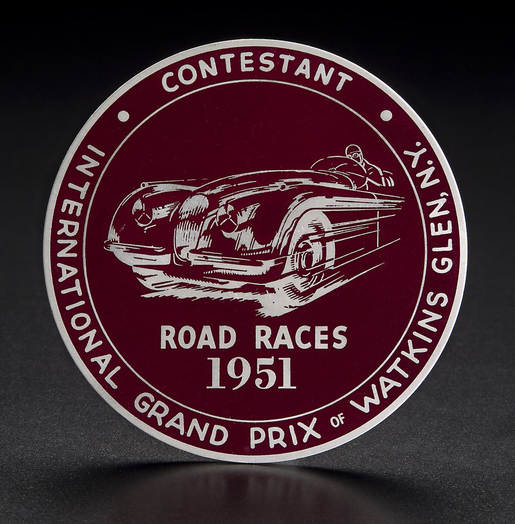 Watkins Glen Medallion
