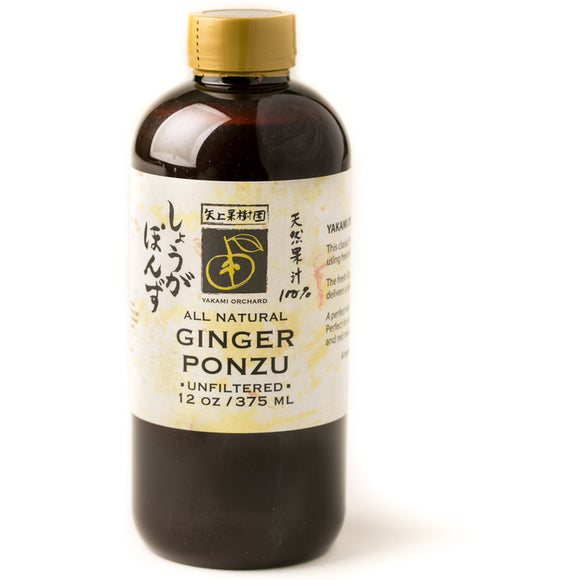 Yakami Ginger Ponzu 375ml - Noble Market