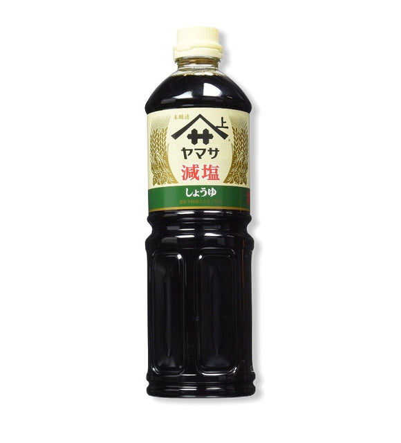 Yamasa Less Salt Soy Sauce 1L - Noble Market