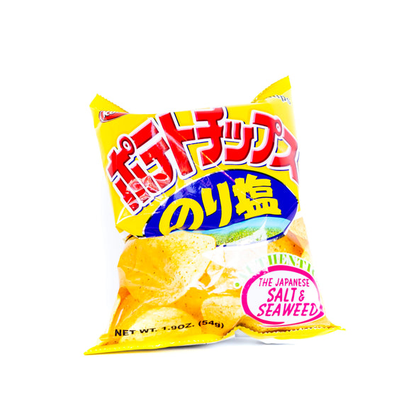 Koikeya Salt & Seaweed Chips - Noble Market