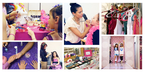 fashion runway birthday parties for children in NYC