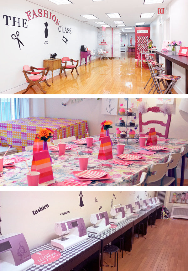 Sewing and Fashion Classes camps and birthday parties in Manhattan