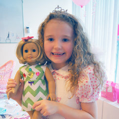 American Girl Doll Dress Making Birthday Party for girls in Manhattan NYC