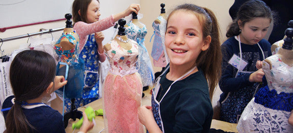 Fashion Design craft birthday parties in NYC
